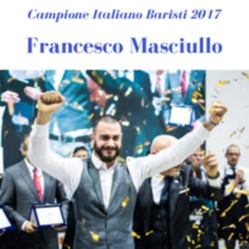 Francesco Masciullo è il nuovo campione italiano di caffè