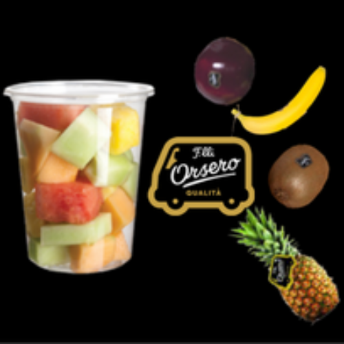 """F.lli Orsero entra nel vending con la frutta """"fresh cut"""""""