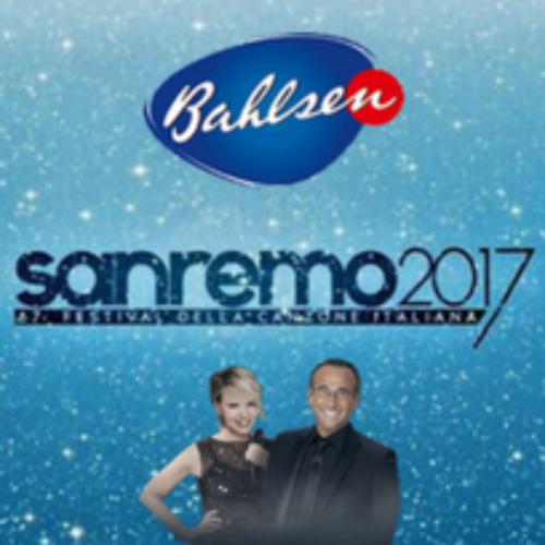 Bahlsen ospite di Sanremo per tutte e 5 le serate