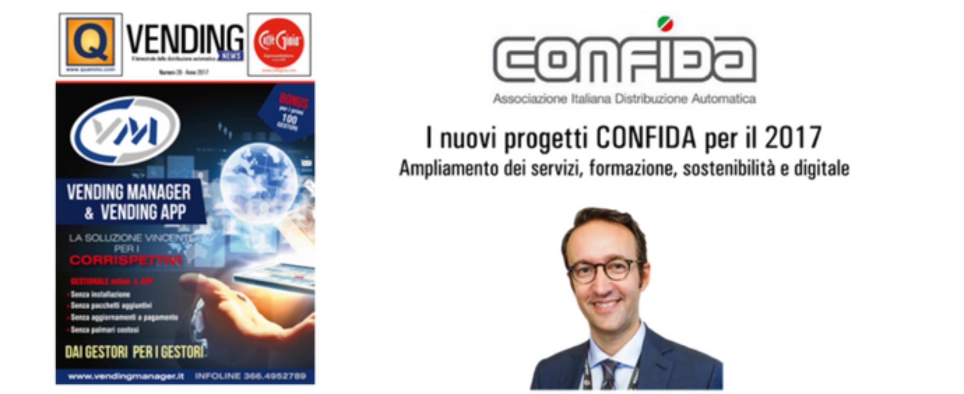 L'intervista al direttore di CONFIDA nel n. 26 di Vending News