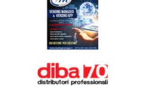 L'intervista con DIBA 70 nel n. 26 della rivista Vending News