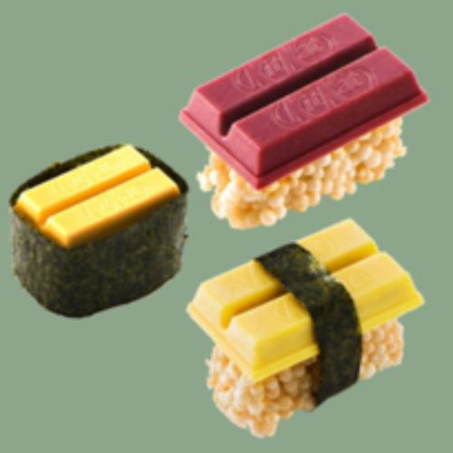 Arriva dal Giappone il sushi al Kit Kat