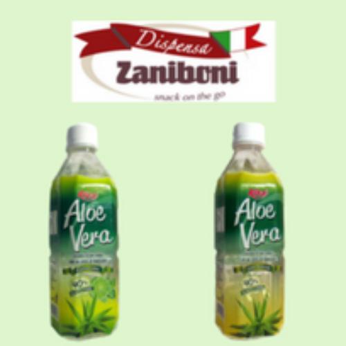 Succo di Aloe vera, la nuova idea negli snack di Zaniboni