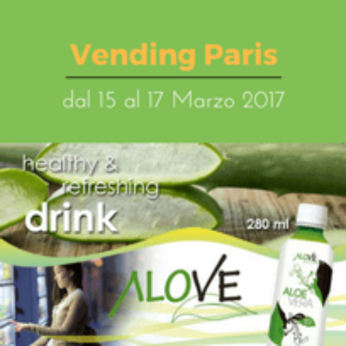 ALOVE Aloe Vera Drink in formato vending