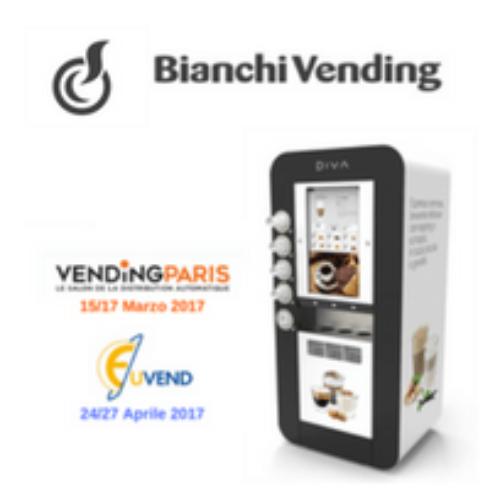 L'innovazione di Bianchi Vending alle fiere di settore