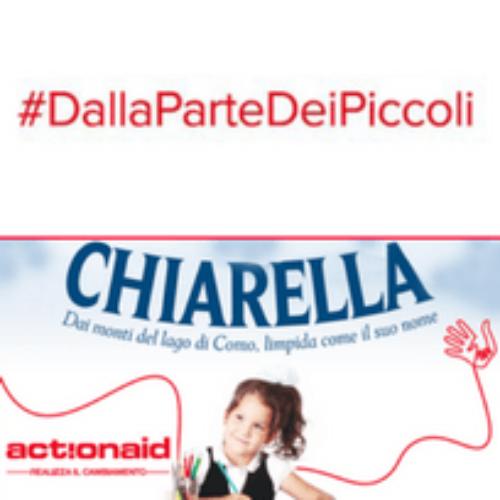 Acqua Chiarella sostiene ActionAid nelle scuole