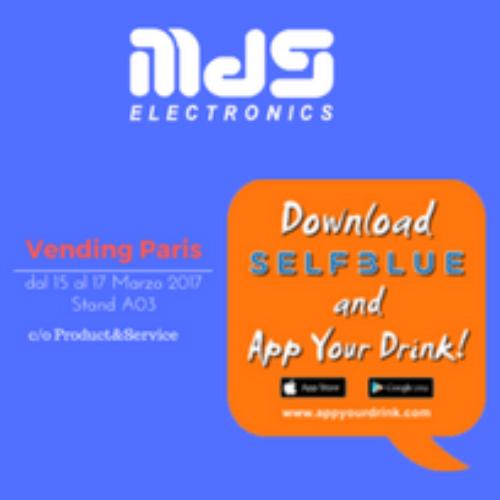 MDS Electronics punta sul vending cashless di SelfBlue