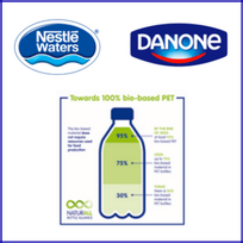 Nestlé Waters e Danone lanciano NaturALL Bottle Alliance