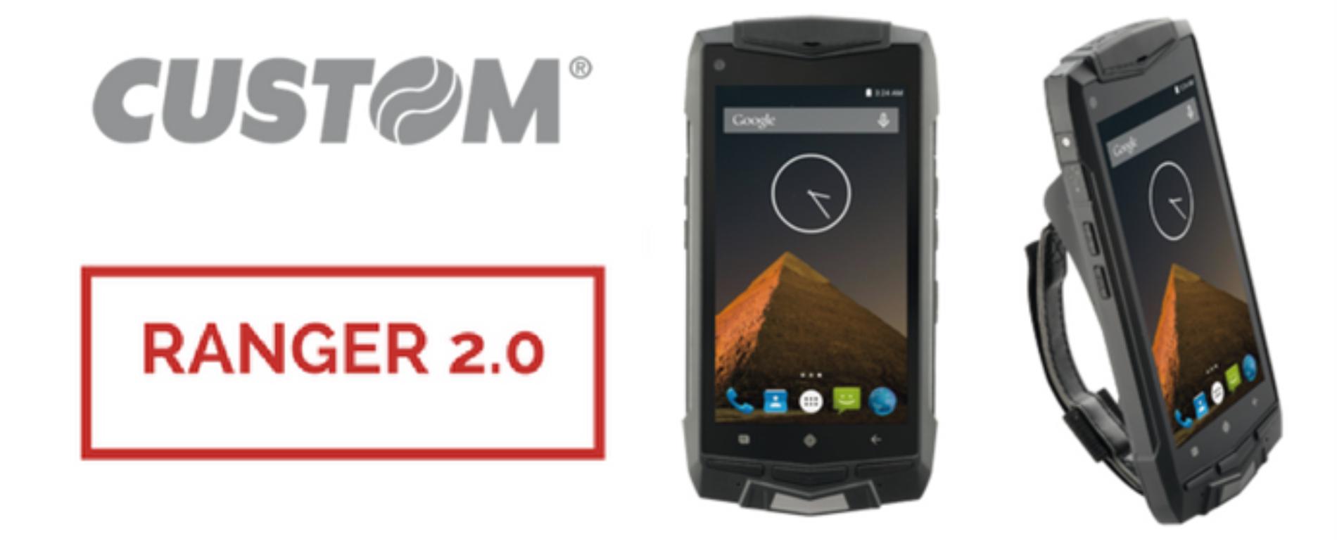 """Ranger 2.0, lo smartphone """"custom made"""" per il Vending"""