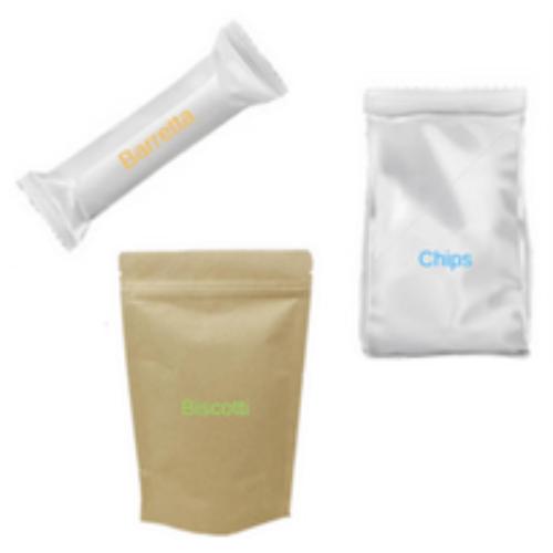 Confezioni anonime per ridurre il consumo di snack