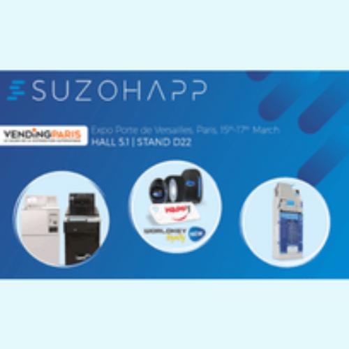 Una nuova immagine per SUZOHAPP a Vending Paris