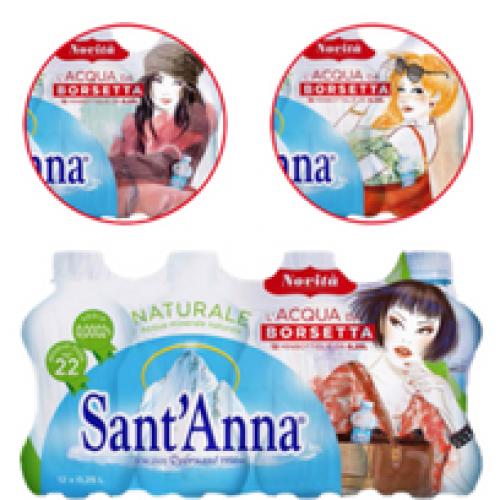 """Acqua Sant'Anna lancia l'acqua """"da borsetta"""""""