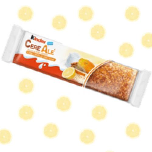 Novità Ferrero: ad aprile arriva Kinder CerealAlé agli agrumi