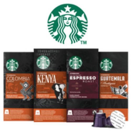Starbucks lancia le capsule compatibili Nespresso