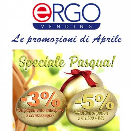 Con Ergo Vending una Pasqua a prezzi speciali