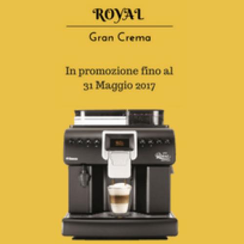 La Saeco Royal Gran Crema ancora in promozione