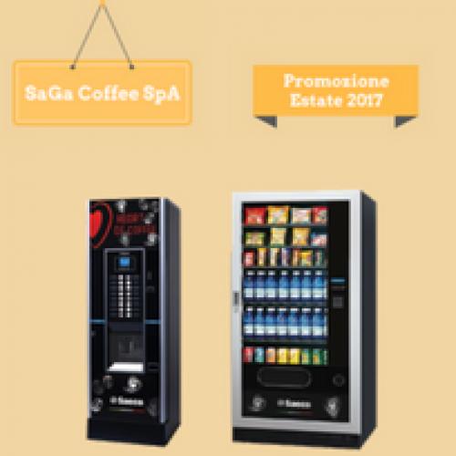 """La promozione """"Estate 2017"""" di SaGa Coffee"""
