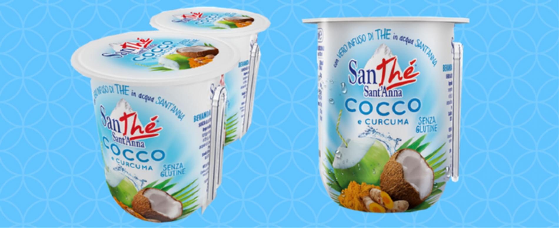 Il nuovo gusto Cocco e Curcuma di SanThé Sant'Anna