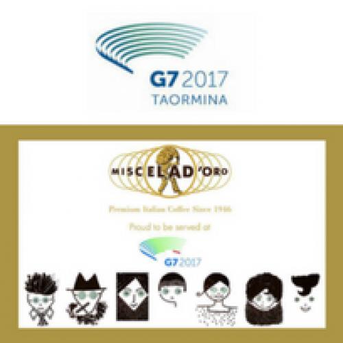 Miscela D'Oro è il caffè del G7 di Taormina