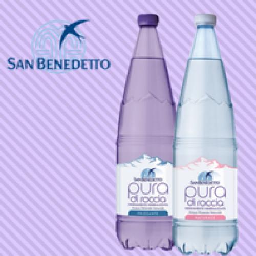 Acqua Minerale San Benedetto è on air con Pura di Roccia