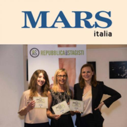 """Mars Italia premiata da """"Repubblica degli Stagisti"""""""