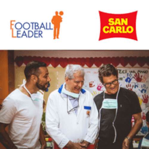 San Carlo e Football Leader insieme per i bambini del Pausilipon