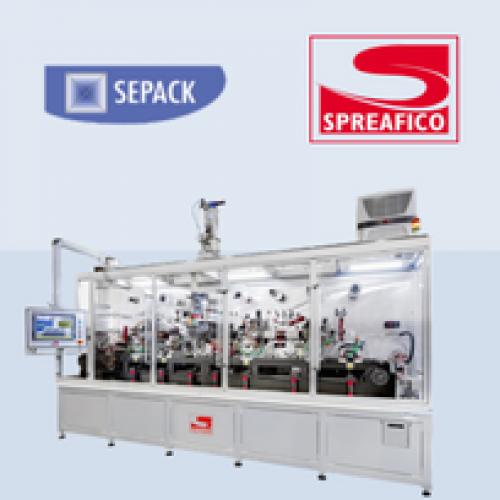 Nuova collaborazione tra Sepack e Spreafico