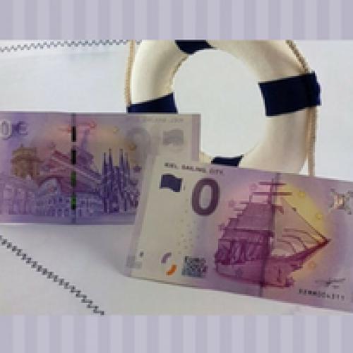 In Germania è apparsa una banconota da zero euro