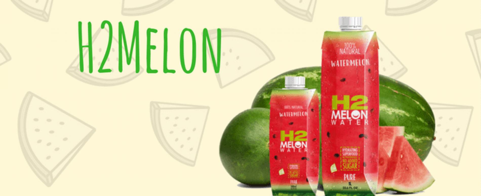 H2melon: l'acqua rinfrescante al gusto di anguria