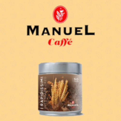 "Manuel Caffè lancia la linea di solubili""I Rapidissimi"""