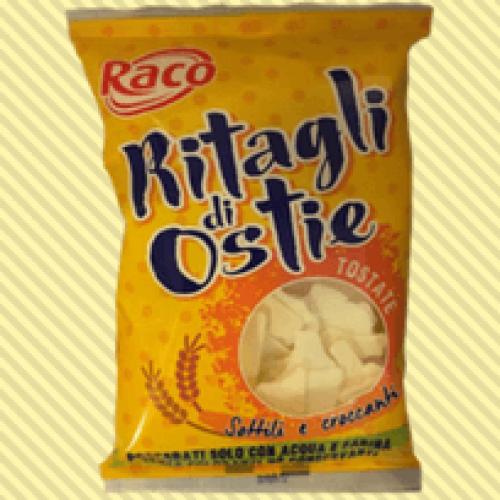 Dai ritagli delle ostie uno snack croccante e ipocalorico