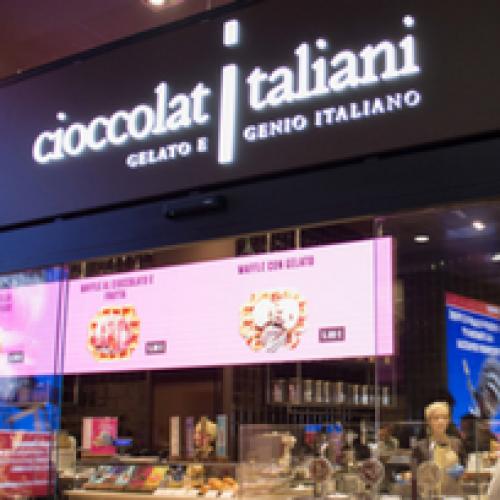 Cioccolatiitaliani. Una nuova boutique di Chef Express a Malpensa