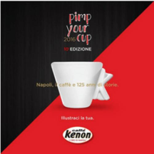 Pimp your Cup, il nuovo concorso di Caffè Kenon
