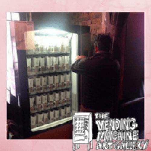 A Brighton le opere d'arte si vendono nel distributore automatico