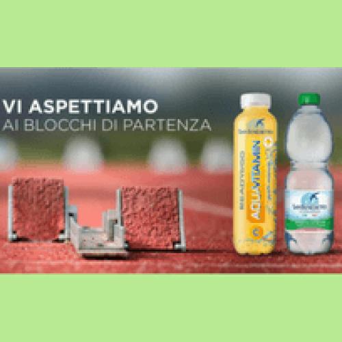 Acqua San Benedetto sponsor del meeting di atletica mondiale
