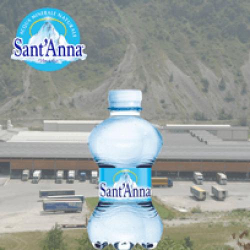 Giugno record per le vendite di Acqua Sant'Anna