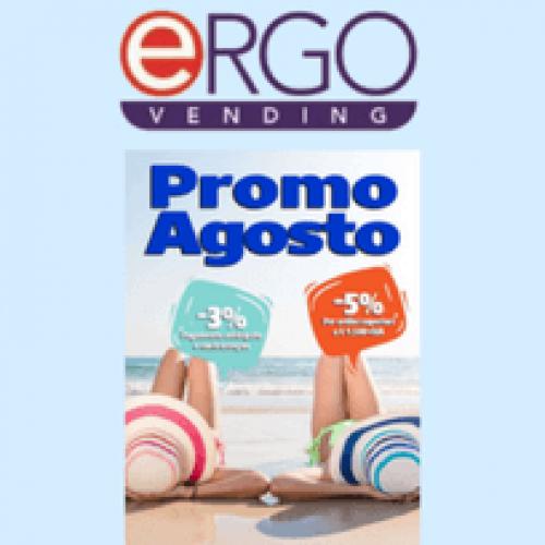 Le promozioni di Ergo Vending non vanno in ferie!