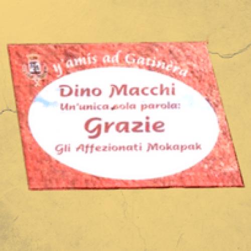 """Dino Macchi sulla """"Walk of Fame"""" di Gattinara"""