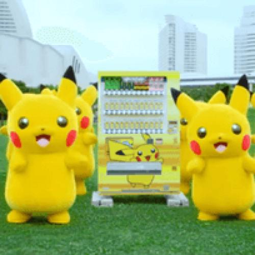 In Giappone i Pokemon pubblicizzano il vending
