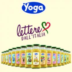 """Yoga spedisce """"Lettere dall'Italia"""" in limited edition"""