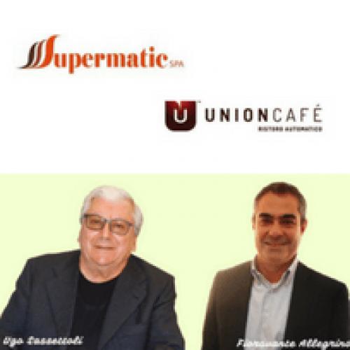 Accordo Supermatic – UnionCafé. Si rafforza il percorso di crescita