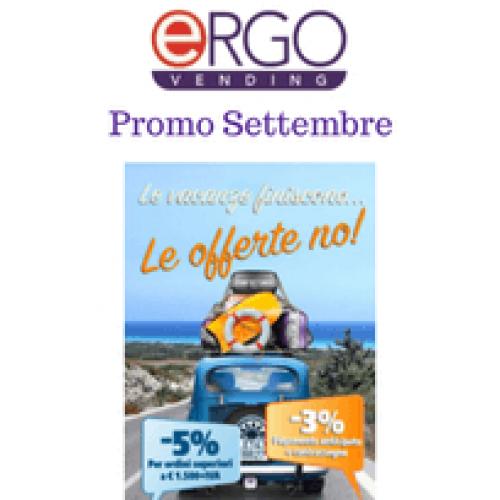 """Un rientro """"conveniente"""" con le promo di Ergo Vending"""