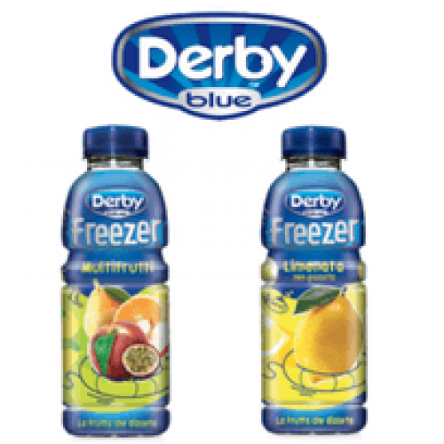 Derby Blue Multifrutti disponibile nel canale vending