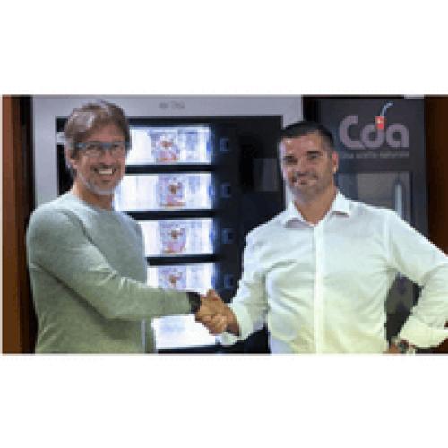 CDA porta il frico friulano nei distributori automatici