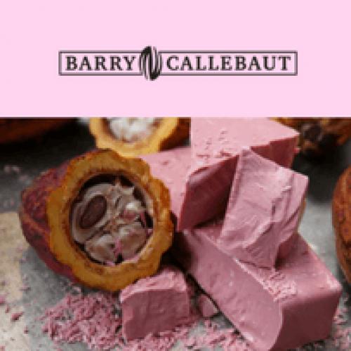 Cioccolato rosa: la novità di Barry Callebaut