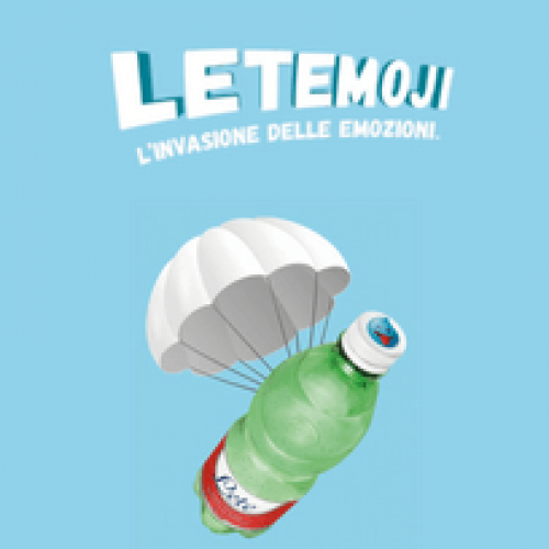 Letemoji: in arrivo il nuovo packaging di Acqua Lete