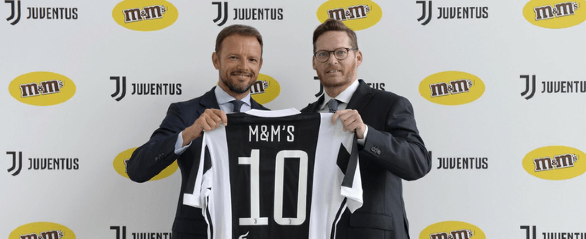 Juve e M&M's: nuova partnership per la stagione 2017-18