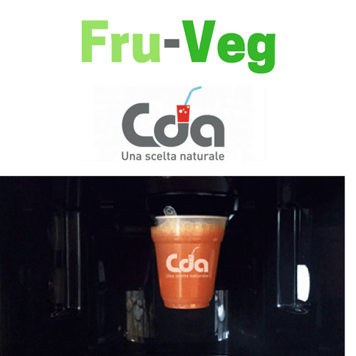 CDA Cattelan presenta Fru-Veg drink