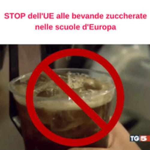 STOP dell'UNESDA alle bevande zuccherate nelle scuole d'Europa