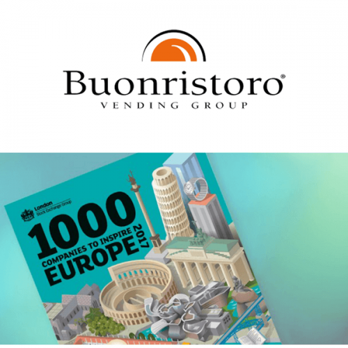 """Anche il Vending italiano tra le """"1000 Companies to Inspire Europe"""""""